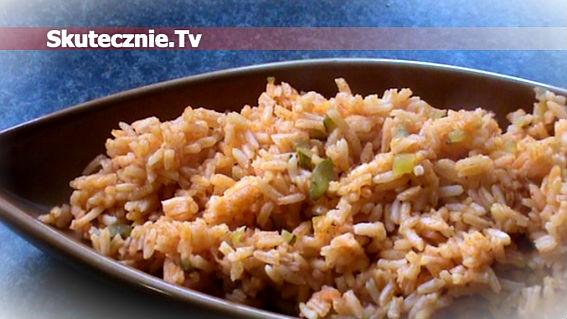 Ryż paprykowo-pomidorowy