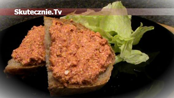 Twarogowa pasta kanapkowa –różowa i smaczna;)