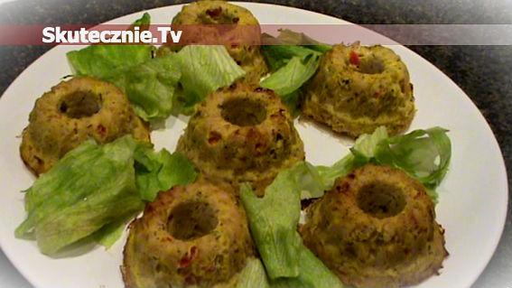 2w1 -babeczki i kiełbaski drobiowe z warzywami
