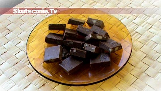 Domowa czekolada z bakaliami… lub bez;)