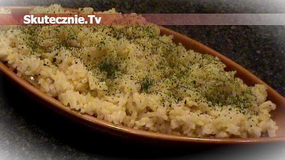 Gyrosowy ryż z cebulką