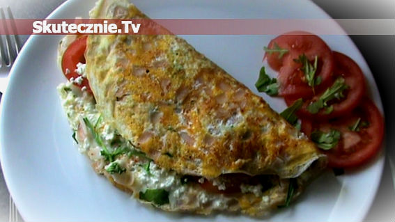 Wiosenny omlet -lekki i sycący
