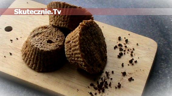 Muffinki otrębowe kawowo-cynamonowe (Dukan)