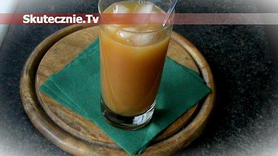 Mrożony napój z herbaty -pomarańczowo-miodowy