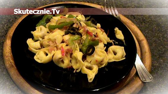 Tortellini z warzywami