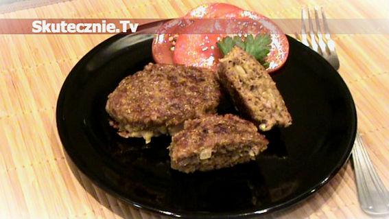 Wołowe kotleciki serowo-cebulowe w żytniej panierce
