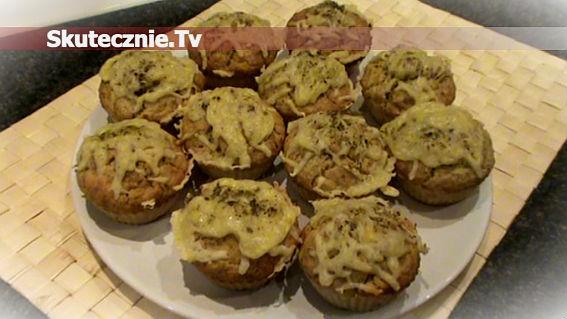 Muffinki pizzowe, czyli babeczki a'la pizza