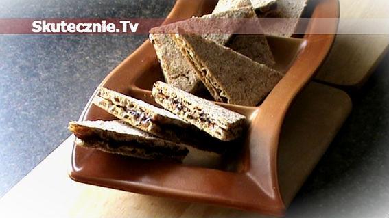 Oszukane ciasteczka, czyli szybka, pełnoziarnista i słodka przekąska