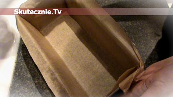 Jak szybko i równo wyłożyć blaszkę papierem do pieczenia