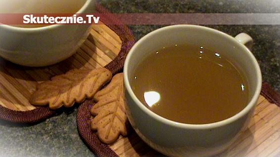 Rozgrzewająca herbata jabłkowa