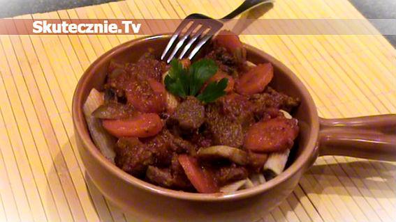 Pikantna wołowina z tequilą -rozgrzewa i syci
