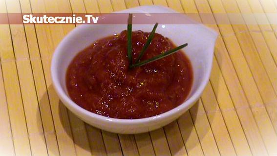 Sos pomidorowy, czyli domowy ketchup