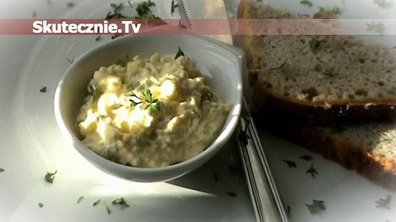 Lekka pasta jajeczna z rzeżuchą