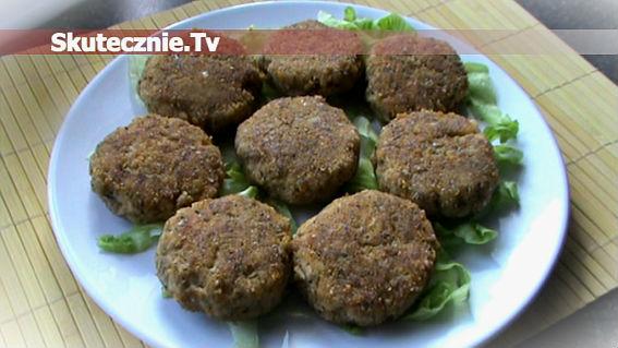 Pikantne kotleciki ziemniaczane z mięsem