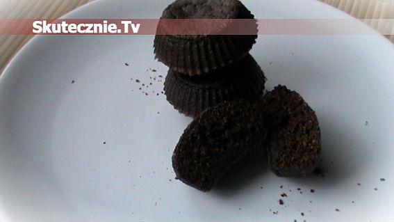 Czekoladowe muffinki z colą -wersja light