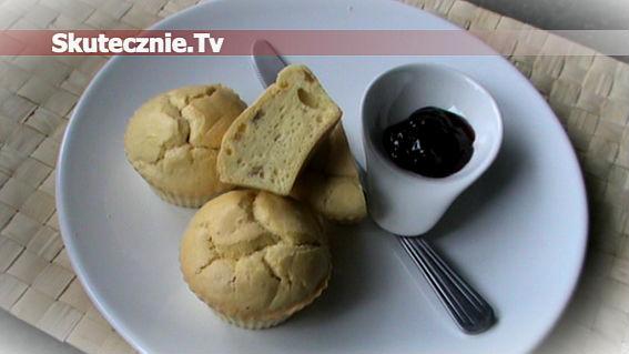 Muffinki biszkoptowe z rodzynkami