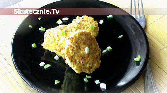 Kotlety drobiowo-jajeczne z curry