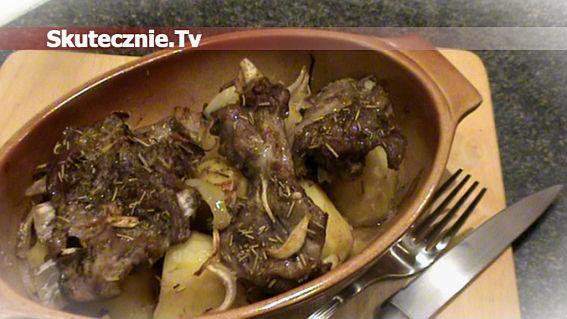 Rozmarynowe żeberka pieczone z ziemniakami