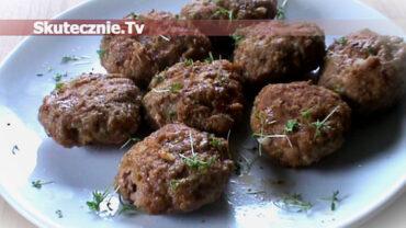 Kotlety grillowe w pomidorowej glazurze