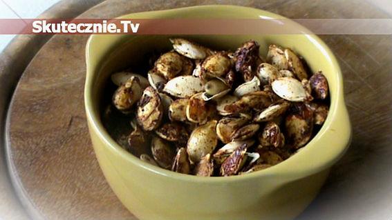 Prażone pestki dyni -wersja pikantno-słodka