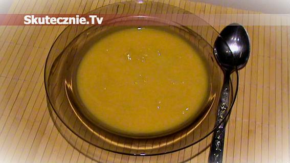 Zupa dyniowa z zacierkami -na ostro lub na słodko