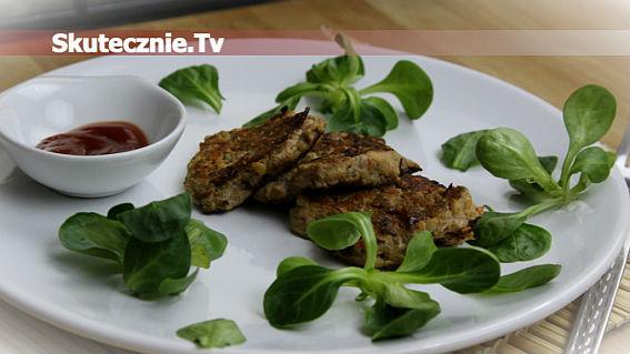 Kotleciki z łopatki z warzywami chińskimi