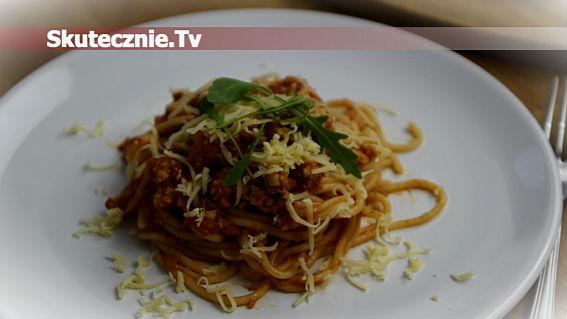 Odchudzony sos mięsny do spaghetti lub ryżu