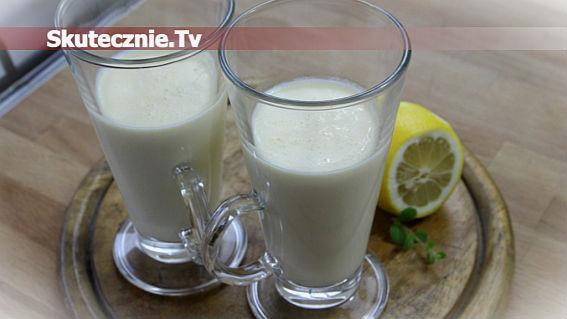 Wysokoproteinowy napój miętowo-cytrynowy