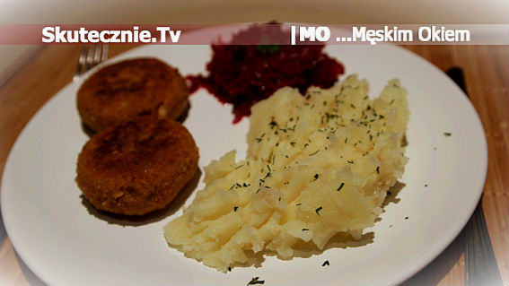 Ziemniaki z cebulą na smalcu  Męskim Okiem;)