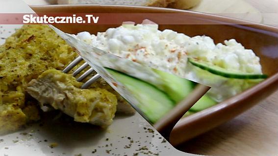 2w1: Serek śniadaniowy   Zapiekany kurczak pod serową kołderką