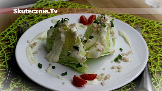 Iceberg Wedge Salad -odchudzona i... nadal pyszna:)
