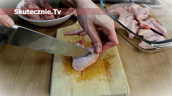Jak przygotować skrzydełka do pieczenia