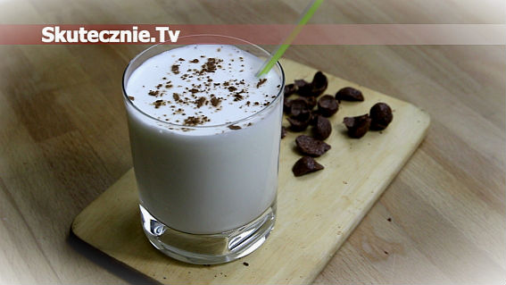 Napój mleczny -jak shake, ale w wersji light