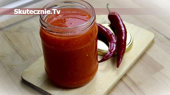 Pikantny sos słodko-kwaśny (ananasowy z chili)
