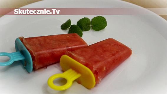 Mrożone owoce -sorbet z arbuza