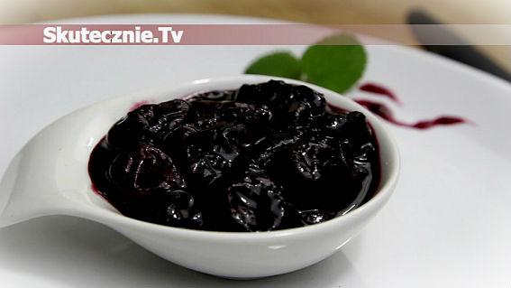 Pikantna konfitura z czereśni lub wiśni