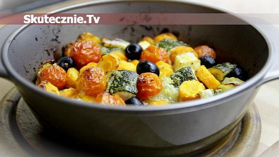 Warzywa pieczone w marynacie cebulowej