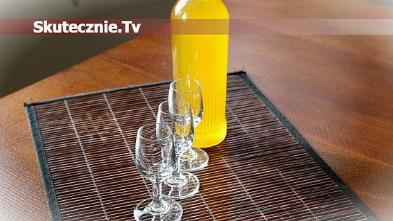 Cytrynówka -wódka cytrynowa z miodem