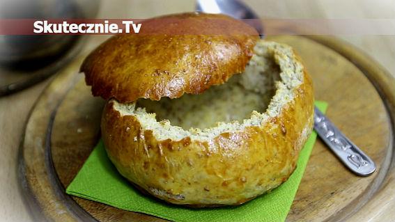 Chlebowe miski -do żurku, zup, gulaszy, itp.
