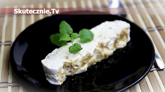 Zimowe lody -z ciastkami korzennymi i miodem