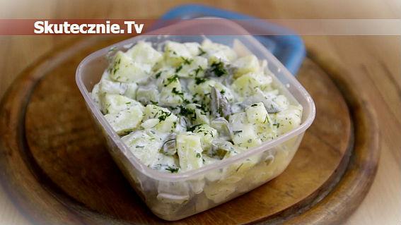 Lekka sałatka ziemniaczana -np. zamiast kanapki