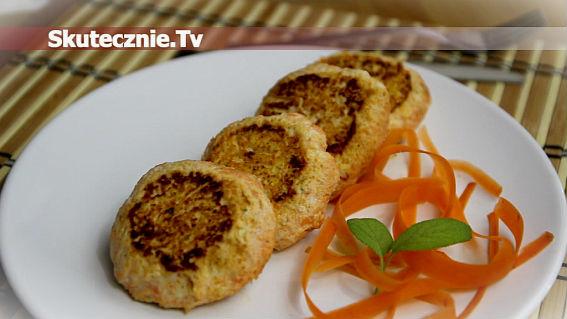 Kotlety drobiowe z marchwią i chilli