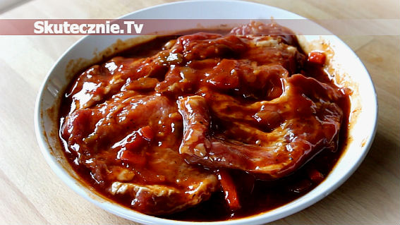 Marynata do mięs na grilla (słodko-kwaśna)
