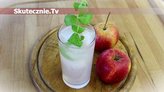 Orzeźwiający kompot jabłkowy z miętą + szybki mus