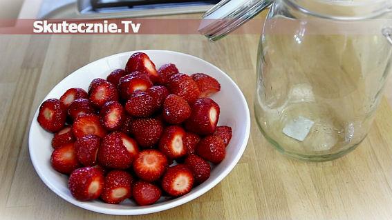 Nalewka truskawkowa cz.1   Owoce do słoja