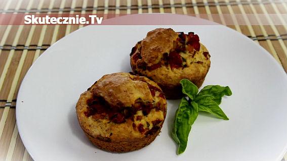 Wytrawne muffiny z papryką