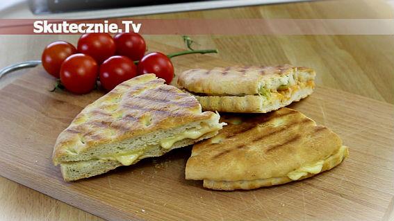 Panini -pyszne włoskie kanapki