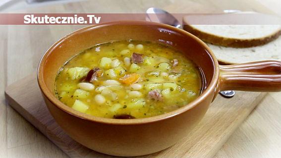 Prosta zupa fasolowa