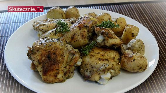Marynata prowansalska + pieczony kurczak