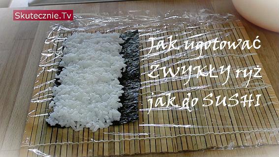 Jak ugotować zwykły ryż jak do sushi